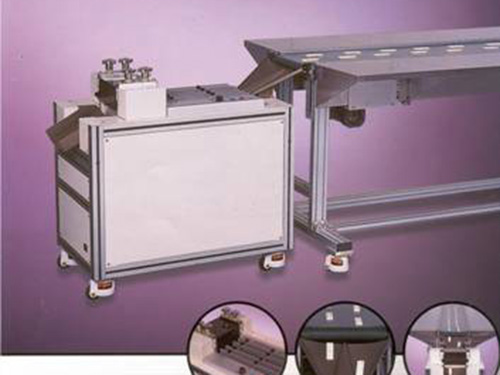 Zeta压壳机和传送带系统